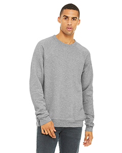 Canvas mens Unisex Sponge Fleece Crew Neck Sweatshirt 3901 -DK GRY MRBLE FLC-2XL
