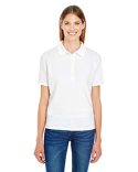 035P Hanes Ladies' 6.5 oz. X-Temp® Piqué Short-Sleeve Polo with Fresh IQ
