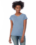 04860C1 Alternative Ladies' Vintage Garment-Dyed Distressed T-Shirt