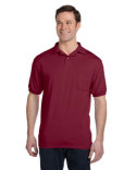 054P Hanes Adult 50/50 EcoSmart® Jersey Pocket Polo