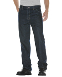 13293 Dickies Unisex Relaxed Straight Fit 5-Pocket Denim Jean Pant