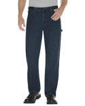 19294 Dickies Unisex Relaxed Fit Stonewashed Carpenter Denim Jean Pant