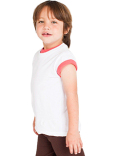 2105ORW American Apparel Toddler Organic Fine Jersey Short-Sleeve T-Shirt
