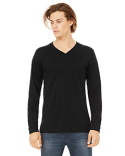 3425 Bella + Canvas Unisex Jersey Long-Sleeve V-Neck T-Shirt