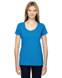 3504 LAT Ladies' Scoop Neck Fine Jersey T-Shirt