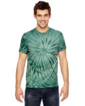 365CY Tie-Dye for Team 365 Adult Team Tonal Cyclone Tie-Dyed T-Shirt