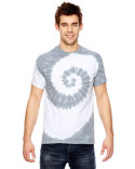 365SL Tie-Dye for Team 365 Adult Team Tonal Spiral Tie-Dyed T-Shirt