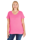 3804 LAT Ladies' Curvy T-Shirt