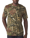 3970 Code Five Men's Mossy Oak Camo T-Shirt