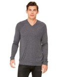 3985 Bella + Canvas Unisex V-Neck Lightweight Sweater