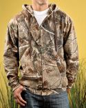 3989 Code Five Men's Realtree Camo Zip Hoodie