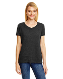 42VT Hanes Ladies' X-Temp® Triblend V-Neck T-Shirt