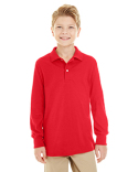 437YL Jerzees Youth 5.6 oz. SpotShield™ Long-Sleeve Jersey Polo