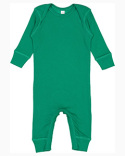 4412 Rabbit Skins Infant Baby Rib Coverall