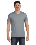 498V Hanes Adult 4.5 oz., 100% Ringspun Cotton nano-T® V-Neck T-Shirt