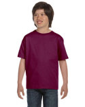 5480 Hanes Youth 5.2 oz., Comfortsoft® Cotton T-Shirt