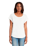 6360 Next Level Ladies' Dolman with Rolled Sleeves