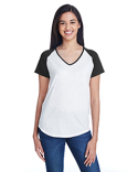 6770VL Anvil Ladies' Tri-Blend Raglan T-Shirt