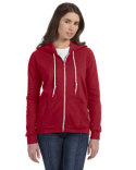 71600L Anvil Ladies' Full-Zip Hooded Fleece