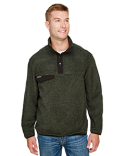 7352 Dri Duck Men's Denali Fleece Pullover Jacket