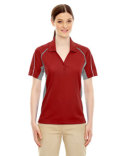 75110 Extreme Ladies' Eperformance™ Parallel Snag Protection Polo with Piping
