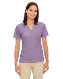 75115 Extreme Ladies' Eperformance™ Launch Snag Protection Striped Polo