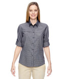 77046 Ash City - North End Ladies' Excursion F.B.C. Textured Performance Shirt