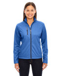 78213 North End Ladies' Trace Printed Fleece Jacket