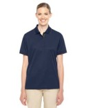 78222 Ash City - Core 365 Ladies' Motive Performance Pique Polo with Tipped Collar