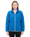 78231 North End Ladies' Resolve Interactive Insulated Packable Jacket