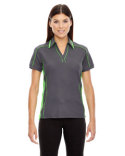 78648 North End Ladies' Sonic Performance Polyester Piqué Polo