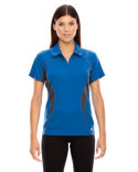 78657 Ash City - North End Sport Red Ladies' Serac UTK cool?logik™ Performance Zippered Polo
