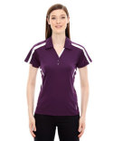 78667 Ash City - North End Sport Red Ladies' Accelerate UTK cool?logik™ Performance Polo