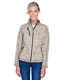 78669 North End Ladies' Peak Sweater Fleece Jacket