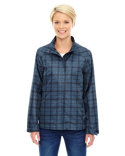 78671 North End Ladies' Locale Lightweight City Plaid Jacket