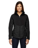 78679 North End Ladies' Innovate Insulated Hybrid Soft Shell Jacket