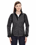 78686 North End Ladies' Commute Three-Layer Light Bonded Two-Tone Soft Shell Jacket with Heat Reflect Technology