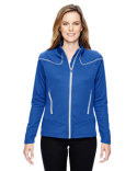 78806 North End Ladies' Cadence Interactive Two-Tone Brush Back Jacket