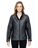 78807 North End Ladies' Aero Interactive Two-Tone Lightweight Jacket