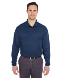 8210LS UltraClub Adult Cool & Dry Long-Sleeve Mesh Piqué Polo