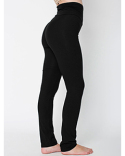 8375W American Apparel Ladies' Cotton/Spandex Yoga Pant