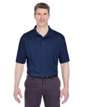 8405P UltraClub Adult Cool & Dry Sport Polo with Pocket