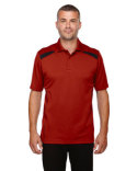 85112 Extreme Men's Eperformance™ Tempo Recycled Polyester Performance Textured Polo