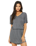 8812 Bella + Canvas Ladies' Flowy V-Neck Dress
