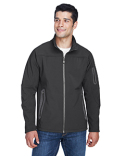 88138 North End Men's Three-Layer Fleece Bonded Soft Shell Technical Jacket