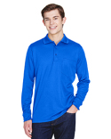 88192P Ash City - Core 365 Adult Pinnacle Performance Piqué Long-Sleeve Polo with Pocket