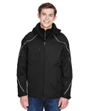 88196 North End Men's Angle 3-in-1 Jacket with Bonded Fleece Liner