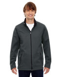 88655 North End Men's Splice Three-Layer Light Bonded Soft Shell Jacket with Laser Welding