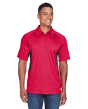 88657 North End Men's Serac UTK cool-logik™ Performance Zippered Polo