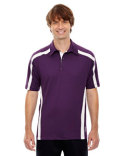 88667 Ash City - North End Sport Red Men's Accelerate UTK cool?logik™ Performance Polo